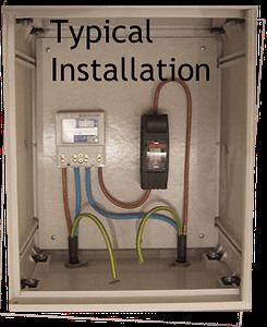 Electric Meter Box 400x500x210mm - Recessed