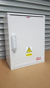 Electric Meter Box 400x500x245mm surface mounted.