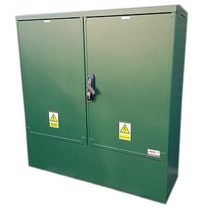 3 Phase Meter Box Green 1060 x 1064 x 320 mm