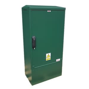 3 Phase Meter Box Green 530x1064x320 mm