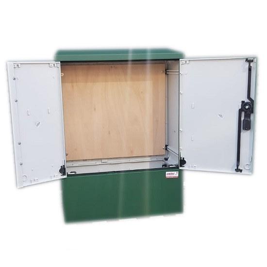 3 Phase Meter Box Green 660x910x320 mm