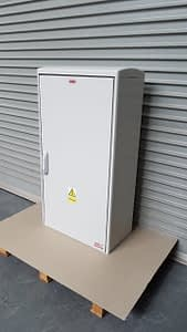 GRP Electric Meter Box W605 x H1150 x D320 mm , New Electricity Connection
