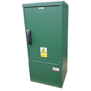 GRP Meter Box Green 400x910x320 mm