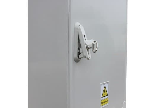3 Phase Meter Box W1060 x H800 x D320 mm GRP Cabinet
