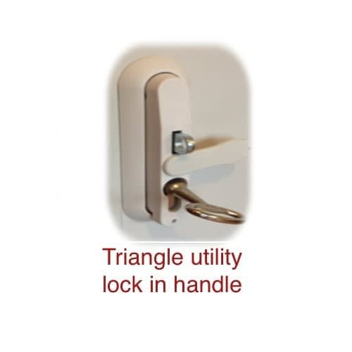 Triangle Lock and Key