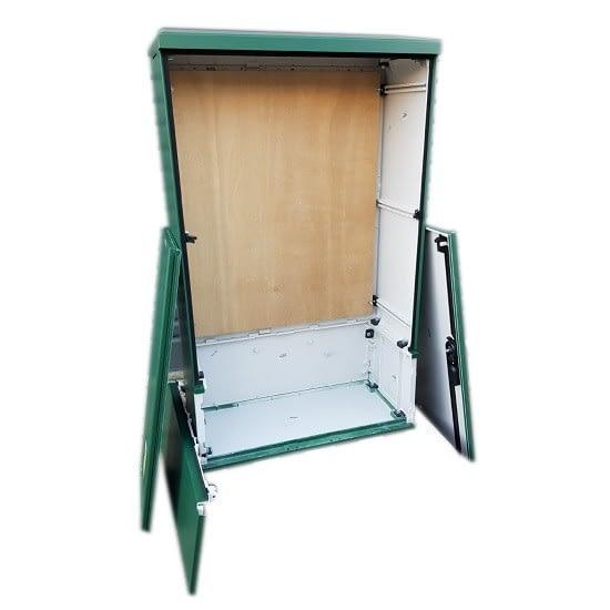 3 Phase Meter Box Green 660x1064x320 mm